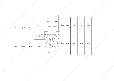 FINN-POWER C5 REPLACEMENT TURRET BRUSH PANELS