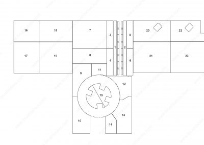 AMADA LC-2012C1NT TURRET REPLACEMENT BRUSH PANELS LAYOUT DIAGRAM
