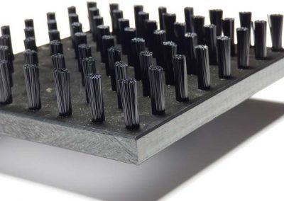 Fibres en nylon noir